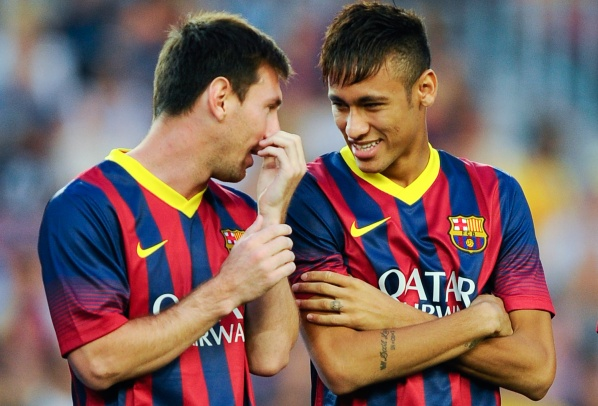 "Messi and Neymar did a show at ""Camp Nou"""