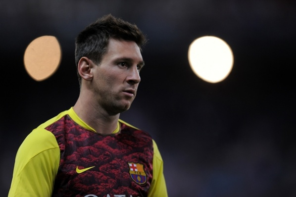 Messi doubtful for the match against Malaga