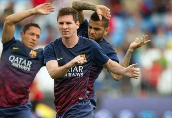 Messi is fully recovered and ready to play