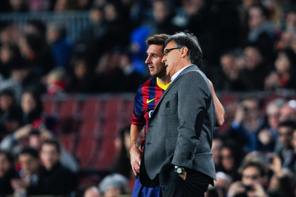 Tata Martino: It should be made a movie about the career of Messi