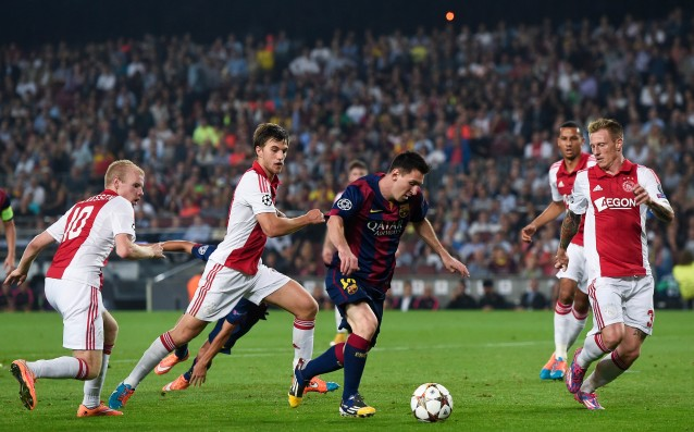 "Messi equalized Ronaldo in the ""eternal"" scorers in the Champions League"