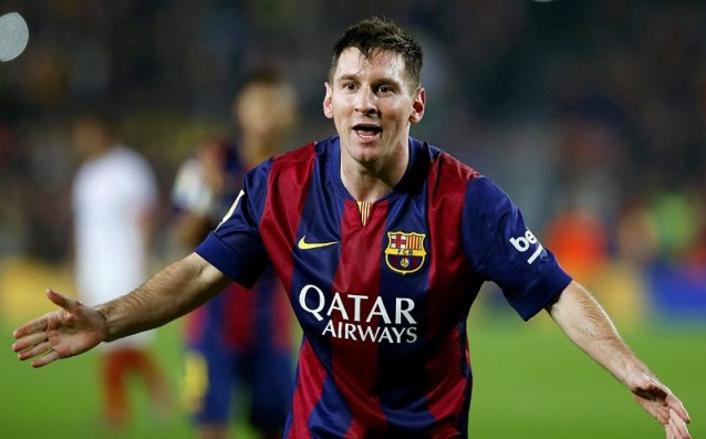 Messi with most hattricks in the history of Champions League