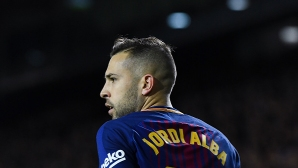Jordi Alba:From the center I saw that the ball passed the goal