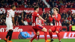 Atletico waited for a penalty after nearly a year