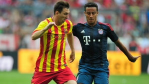 Bayern`s Half:In Messrs only Messi makes me call `wow`