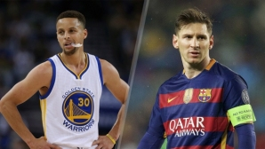 Steph Curry sees himself in Leo Messi