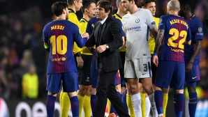 Conte:Messi made the difference, they did not give us a penalty