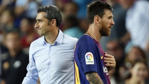 Valverde calms Messi:Not everyone is world champion
