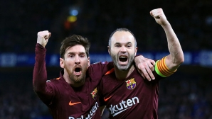 Messi to Iniesta:Thank you, Andres, you are a phenomenon