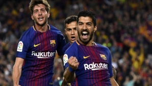 Suarez:I was surprised that the judge did not judge a foul at Messi`s goal