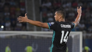 Casemiro laughed at the legend of Barcelona